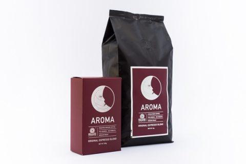 Новый дизайн Espresso Aroma